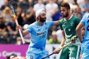 India vs Pakistan, Hockey World League Semi-Final, live score