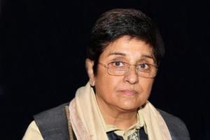 File photograph of Puducherry Lt Governor Kiran Bedi who shares a frosty relationship with the Union Territory's Chief  Minister V Narayansamy.
