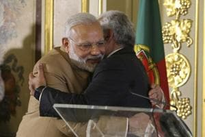 India and Portugal sign 11 pacts on science, tech, education,...