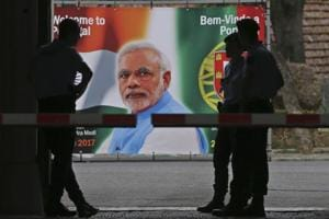 PM Modi arrives in Portugal on first leg of 3-nation visit