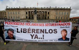 Dutch journalists freed by ELN rebels in Colombia, FM confirms 'good...