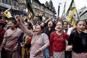 Trouble in store for Sikkim after chamling backs Gorkhaland stir