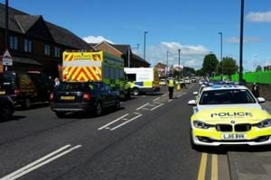 UK: 6 injured as car hits crowd gathered for Eid prayers, Police rule...