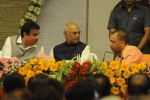 BJP's presidential pick Kovind begins pan-India tour in UP, meets...