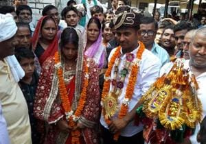 SHO as witness, army jawan undergoes police station wedding in Bihar