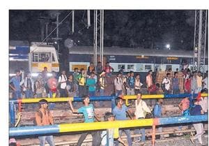 Examinees vandalize Muzaffarpur railway station, damage property worth...