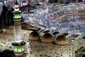 Saudi foils suicide bomber planning attack at Mecca's Grand Mosque,...