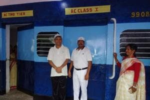 Train shaped state school turns education tide in LWE affected...