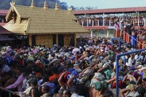 Three detained for damaging gold-coated mast at Sabarimala temple