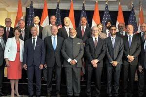 'India's growth a win-win':  PM Modi woos American CEOs, cites...