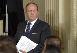 Sean Spicer wishes India 'Happy Independence Day' — two months ahead...