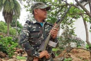 Madkam Bheema rose through the Maoist ranks but surrendered in 2006 and is now with the Chhattisgarh Police.
