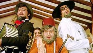 The story of Amar Akbar Anthony is fairly well known. Three brothers are left behind in a park by their father and when he doesn't return, are adopted by three families of different faiths