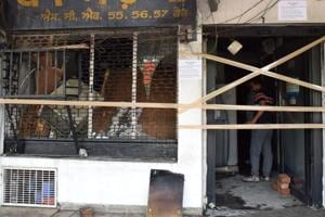Fire breaks out at HDFC Bank branch in Phase 7