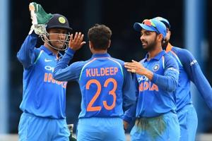 India beat West Indies by 105 runs in 2nd ODI, lead 1-0 in five-match...