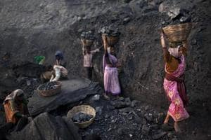Photos: Increased coal mining in India, China and US after major drop...