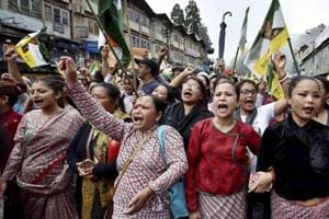 Darjeeling shutdown: Maoist splinter group in Nepal protests India's...