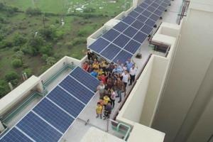 Mumbai housing society switches to solar power, saves ₹2 lakh a month...