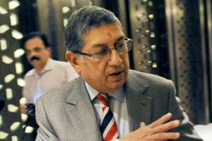 NSrinivasan also blasted the Committee of Administrators' (COA) decision to continue with the administrative staff of the ICC Champions Trophy for the West Indies tour as well
