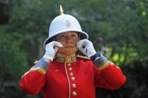 Canadian army officer first woman to command Queen's Guard in London