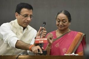 Oppn candidate Meira Kumar says presidential poll a battle of...