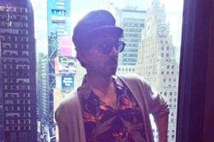 Irrfan Khan channels his 'inner hipster' in New York while shooting...