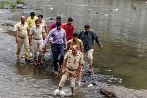 Mumbai police rescue 75-year-old woman who fell into Mithi river