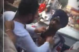 Video | Businessman assaults policeman for stopping his BMW in Patiala