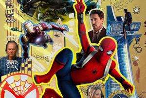 Fans roast new Spider-Man: Homecoming poster for horrible design....