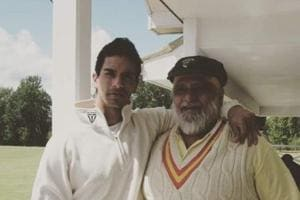 Angad Bedi plans to make a documentary on dad Bishan Singh Bedi