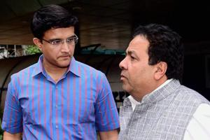 Sourav Ganguly, Rajeev Shukla in BCCI's 7-member panel to oversee...
