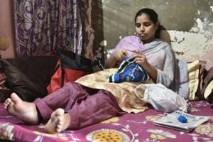 Delhi woman with bone disorder restricted to bed for want of Rs 3 lakh