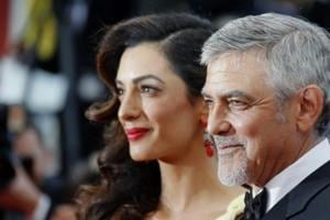 Clooney twins Ella and Alexander are perfect mix of George and Amal