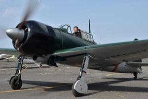 Dreaded Zero fighter of World War 2 takes to skies over Japan