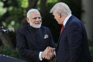 Congress calls Modi-Trump meet disappointing , Naidu describes Oppn as...