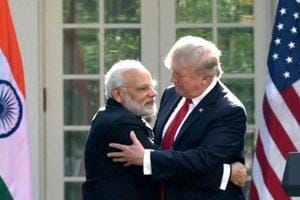 In show of warmth, PM Modi, Donald Trump turn heat on Pakistan and...