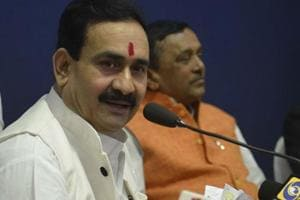 Disqualified MP Narottam Mishra file petition against EC order