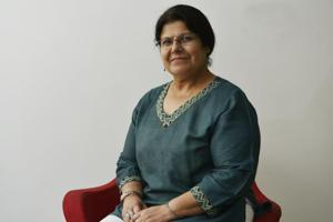 Delhi-based  Anand says through her stories, she tries  to get young readers to think for themselves and ask questions.