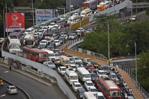 Pune has around 40 flyovers, but the city isn't moving in solving its traffic problem.