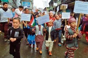 Gorkhaland stir: No school, playground or internet for children in...
