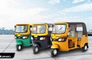 TVS King, the 200 cc passenger three-wheeler, will be launched in the Sri Lankan market.