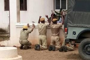 Four Odisha home guards forced to kneel for 'indiscipline', probe...