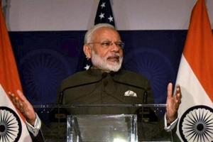 PM Narendra Modi talks of surgical strikes while situation in Kashmir...
