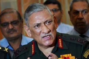 Amid China standoff, army chief Gen Rawat to visit Sikkim on Thursday