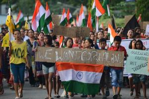 Gorkhaland stir gets support from Nepali groups in Northeast