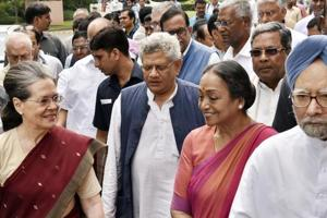 Presidential poll is battle of ideology and principles: Sonia Gandhi