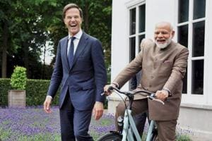 Dutch PM's bicycle gift to Modi has Twitter in overdrive