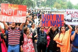 #NotInMyName: Protesters across India hit the streets, say outraged...