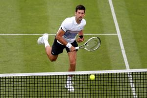 Novak Djokovic passes first grass test at Eastbourne