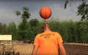 Punjab man spins basketball on toothbrush, creates Guinness world...
